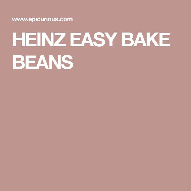 HEINZ EASY BAKE BEANS