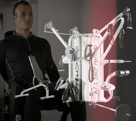 Por su diseño,Axis 360 rehab  facilita  la rápida transición de una estación a la siguiente, favoreciendo un entrenamiento fluido aumentando la sensación de disfrute, diversión y plenitud durante la realización del mismo.