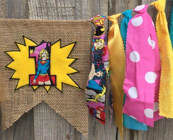 Cumpleaños de las niñas de superhéroe superhéroes chicas