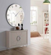 Klokke/Speil MURANO Runde