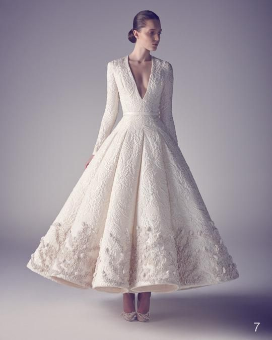 This Wedding Gown Is GORGEOUS & Very UNIQUE! I Love It!!! Ashi Studio Spring/Summer 2015****