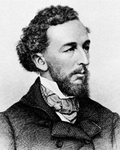Bayard Taylor, engraving by John Chester Buttre after a photograph