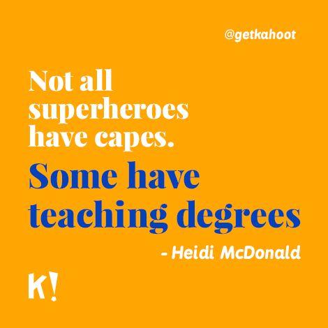 Celebrating World Teachers Day.