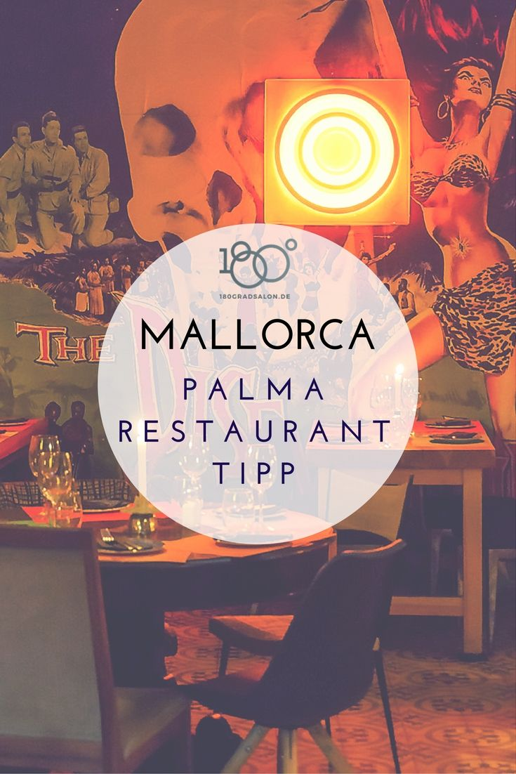 Mallorca Restaurant Tipp für Palma - Quina Creu - Gutes Essen und Retro-Ambiente