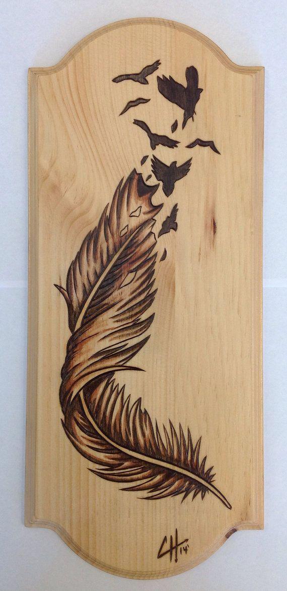 Wood burning: