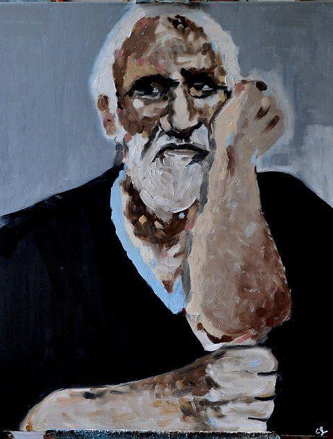 Uxío Novoneyra. Artiste Cristina Godefroid