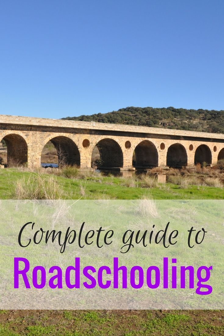 My complete guide to roadschooling, for all digital nomad families on the road - unschooling, worldschooling, homeschooling