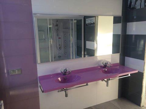 Двойная #раковина решит одну из бытовых проблем больших семей - больше не придется занимать очередь в ванную комнату.