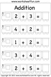 worksheets addition worksheets and trains on pinterest. Black Bedroom Furniture Sets. Home Design Ideas