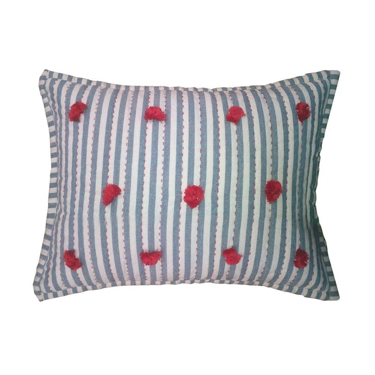 Embark Animal Pillow : Petit Pehr Nursery Pillow, Pom Pom for baby. A Nursery Pinterest Pom poms, Babies and ...
