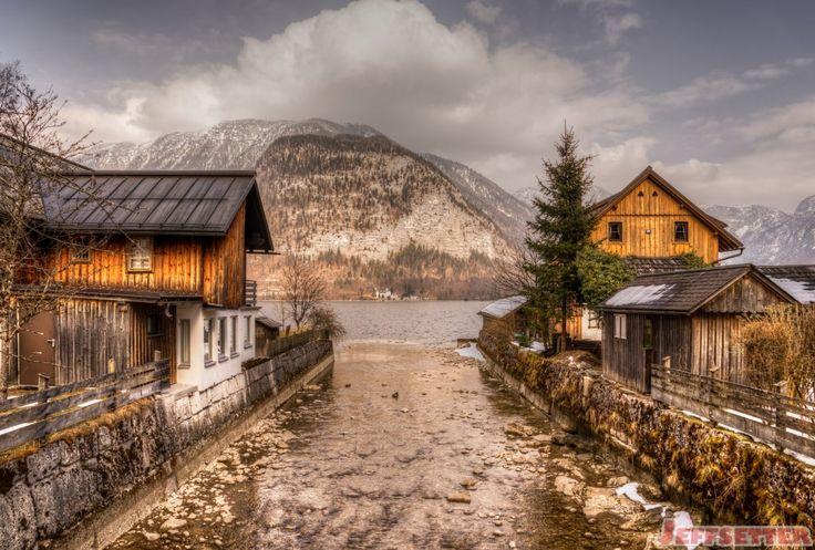 Hallstatt Backside Austria