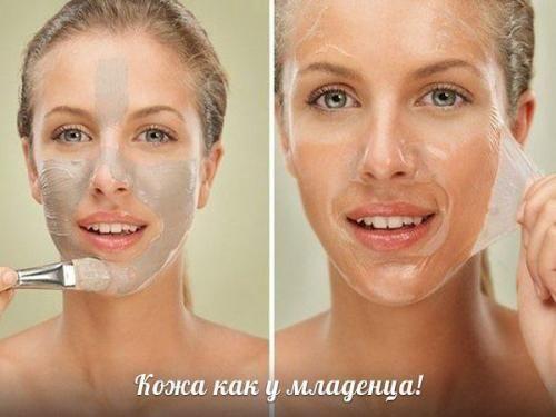Домашняя маска - пиллинг - всего 2 ингредиента. | Макияж лица
