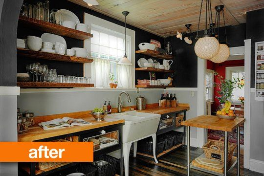 Before & After: Reclaimed & Recycled Kitchen Redo