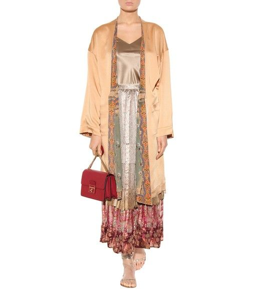 Etro - Printed silk skirt - Богемная блуза и крестьянская юбка