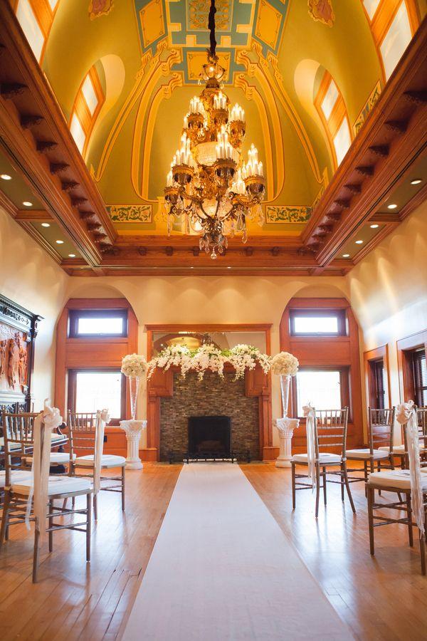 wedding reception restaurants mn%0A Van Dusen manor ceremony room   Minnesota Elegant Manor Gay Wedding    Equally Wed  LGBTQ