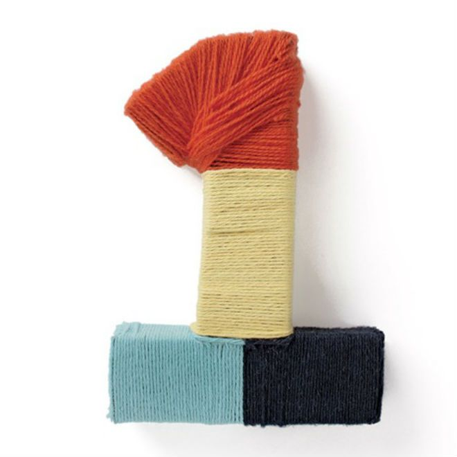 Make a yarn-wrapped number for your child's birthday party. By Kate Stewart | Today's Parent