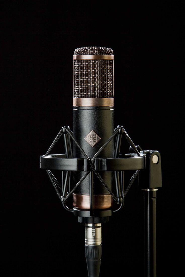 """TELEFUNKEN CU-29 """"copperhead"""" tube microphone. Made by TELEFUNKEN Elektroakustik. www.t-funk.com"""