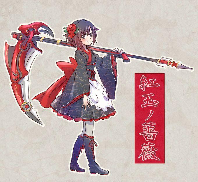 RWBY ruby rose | RWBY :3 | Rwby, Rwby fanart, Anime