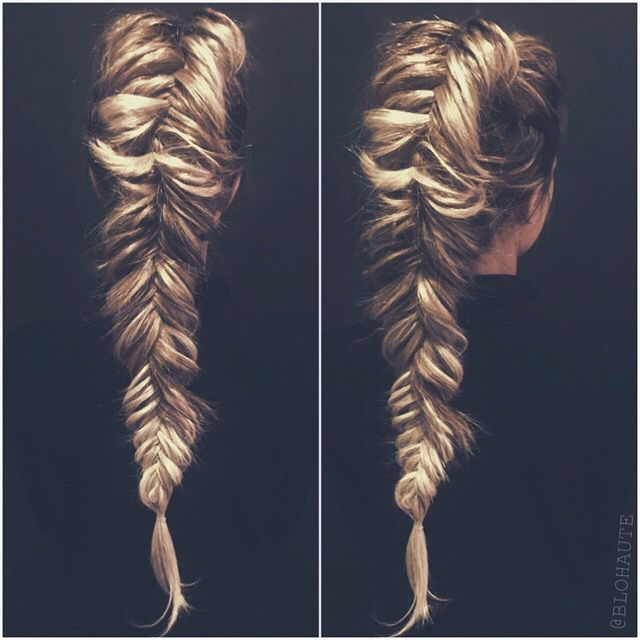 dutch fishtail braid @motkoski @brynn_motkoski this would look so good on you