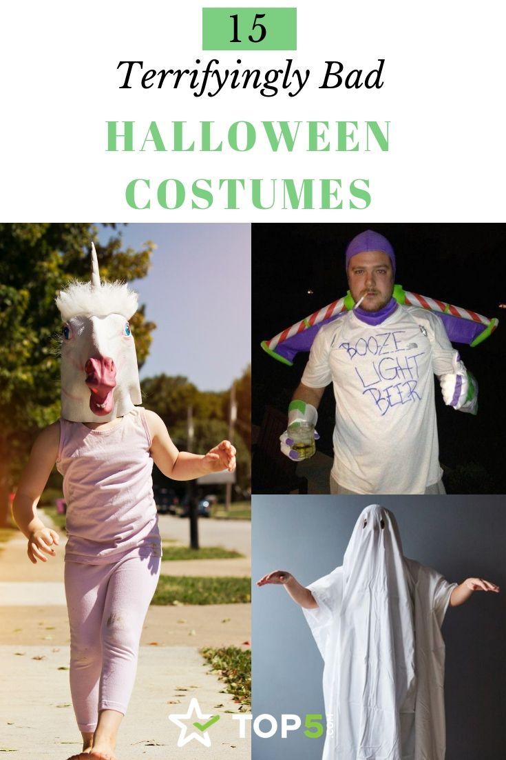 15 terrifyingly bad halloween costume fails to avoid. | halloween