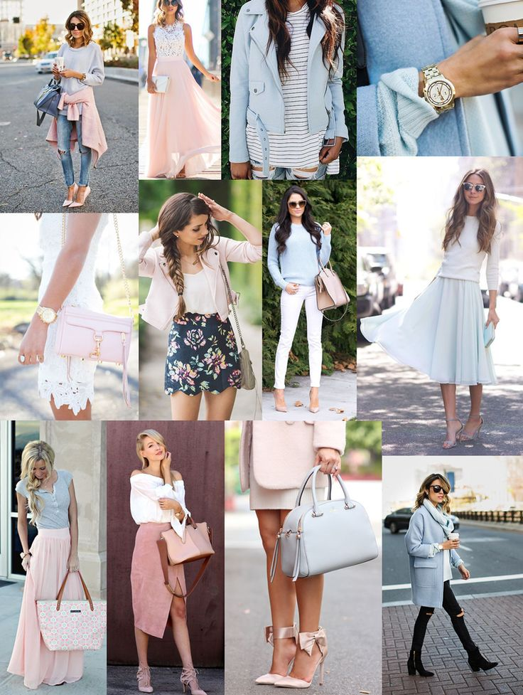 abbzzw | personal style and lifestyle blog: The pastels are in : Powder blue & baby pink