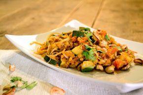 Vegetarische curry met linzen - recept