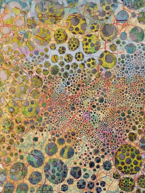 Karen Margolis from her Maps series.  i'm in love with her work