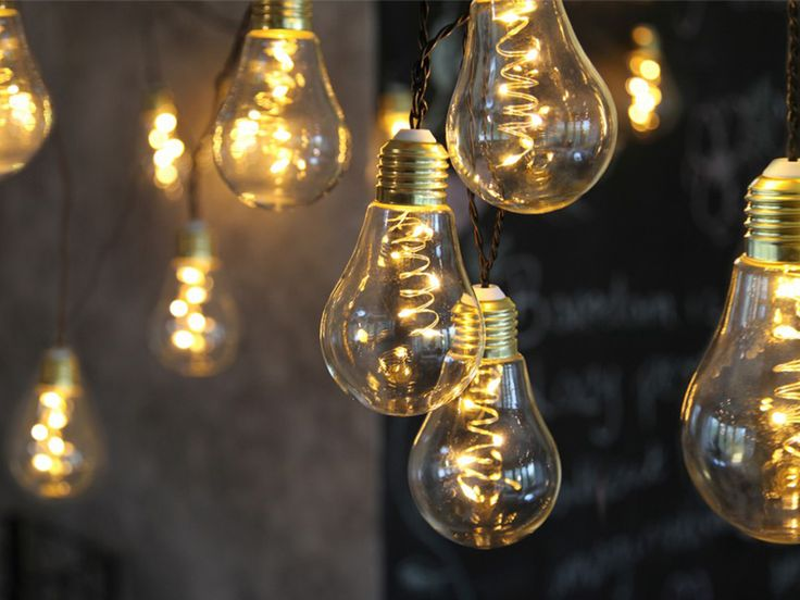 12 best LED Glühbirnenkette images on Pinterest   Kabel, Leuchtparty ...