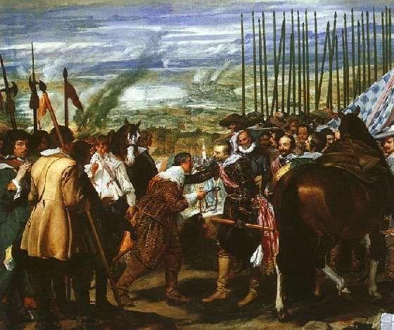 Velazquez la Rendicion de Breda 1634