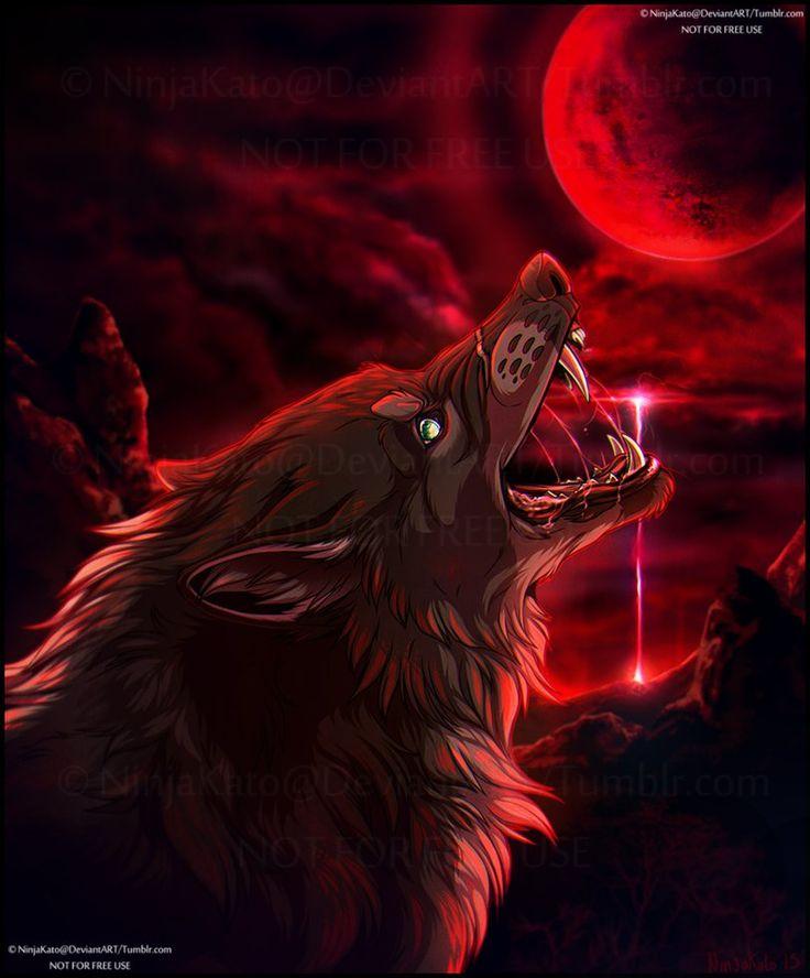 Moon Sickness (YCH comm) by NinjaKato on DeviantArt