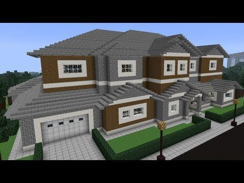 Minecraft House Tour: Redstone Edition.  pinning this for the garage.