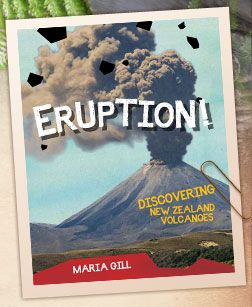Three weeks after this book was released New Zealand had three volcanic eruptions. We couldn't have received better publicity. It is already in its second reprint!