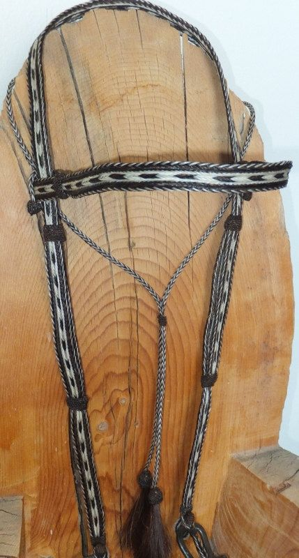 18 best horsehair braided images on pinterest horse hair bracelet custom braided horsehair bridle by rock creek horsehair fandeluxe Gallery