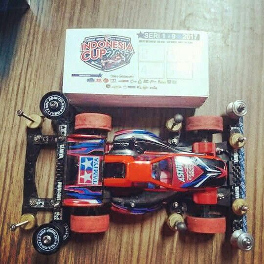 Best time overall for today Race 3 Indonesia Cup 2017 by @tamiya.fanatic . Tomorrow is day 2, don't forget to participate and participants will get 1 attendance point and get the chance to go to Japan for participating in Mini 4WD Tamiya Fair in Shizuoka City Japan and world challenge. Be there!