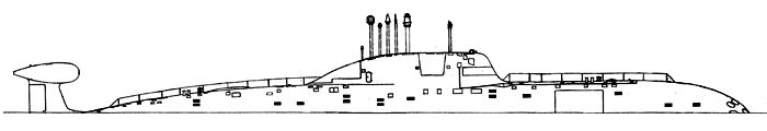 Nuclear-powered submarine - Project 971
