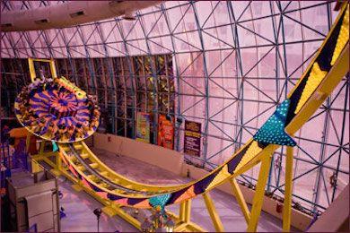 The Adventuredome Theme Park at Circus Circus Las Vegas