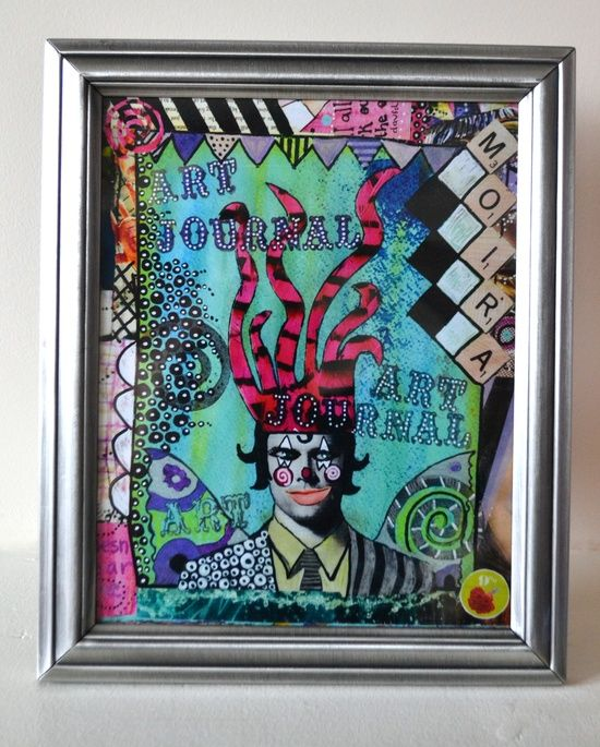 Framed Print - Boys Boys Boys Art Journal Cover