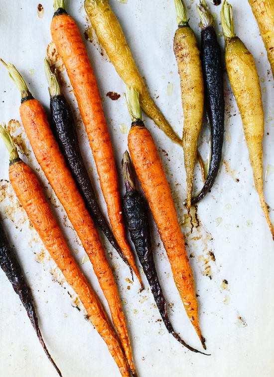 How to roast carrots - cookieandkate.com