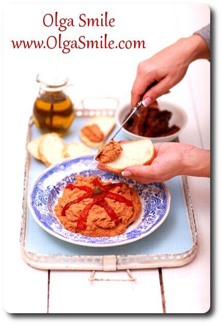 Pasta z ciecierzycy z pomidorami - przepis | Kulinarne przepisy Olgi Smile
