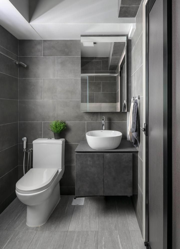 Check Out This Contemporary Style Hdb Bathroom And Other