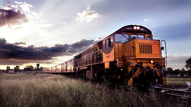 Taxpayer cost of bush train trip like flying to New York. The Westlander fro Brisbane to Charleville, Qld.