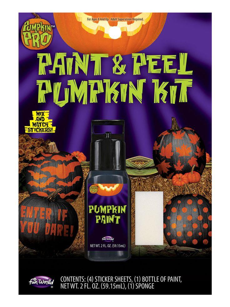 Simple K rbis Sticker Set mit Farbe Halloween teilig schwarz orange weiss