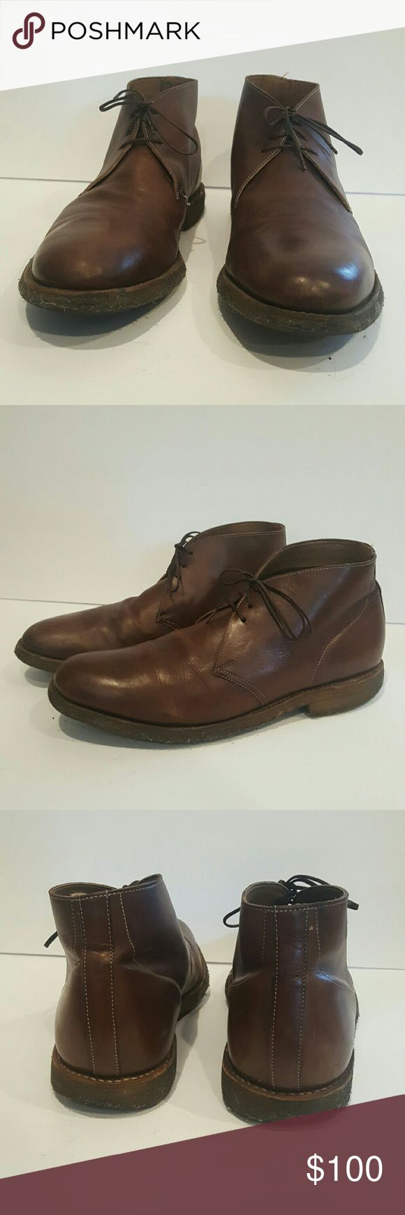 MENS G SHOES 9.5 F CHUKKA BOOTS MENS G SHOES 9.5 F CHUKKA BOOTS VERY COMFORTABLE BROWN LEATHER BEAUTIFUL g Shoes Chukka Boots
