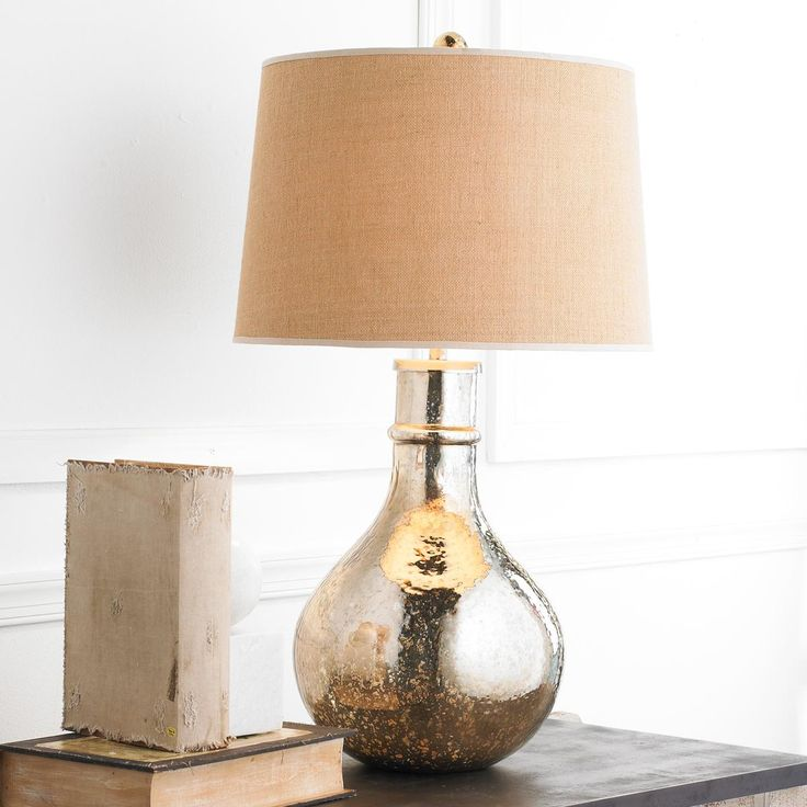 oversized mercury glass table lamp - Mercury Glass Table Lamp