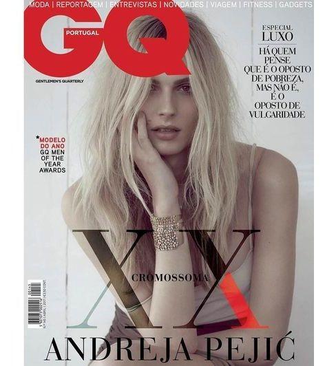 Andreja Pejic es la primera modelo Transgénero que aparece en  una portada de GQ