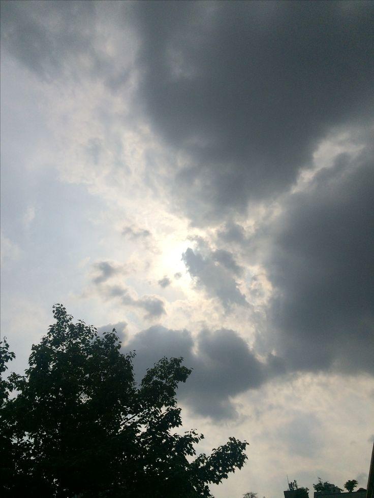 2017년 5월 16일의 하늘 #sky #cloud #sun