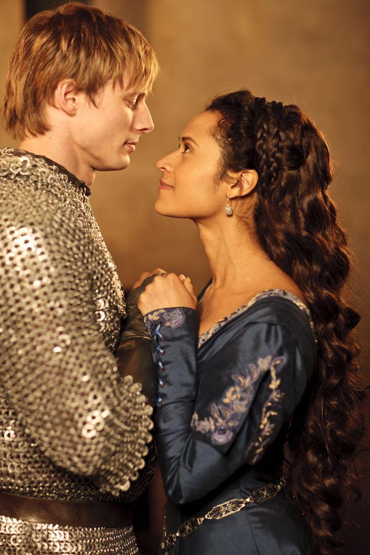 Arthur and Gwen. Merlin BBC