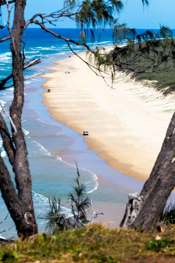 Fraser Island - one of the best islands in Australia for a getaway. Visit the blog to see more islands.
