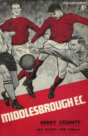 Middlesbrough vs Derby County 1968