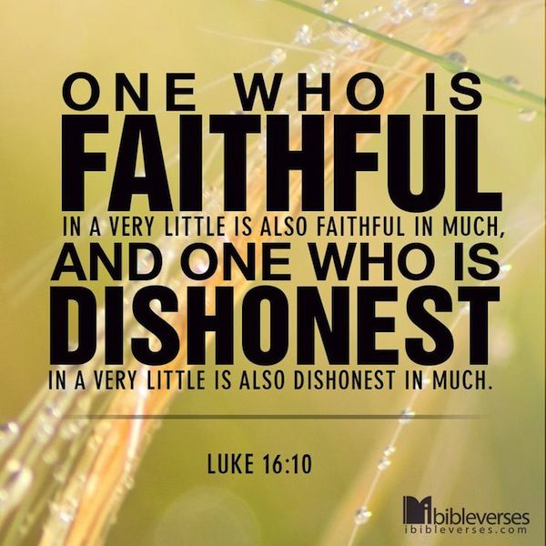 Dishonesty Quotes: The Bible & Life - Commending Dishonesty?